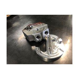 Deviant 60207 Return Fuel Tank Sump in Silver