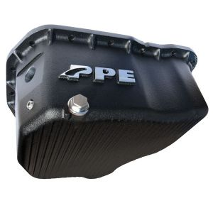 PPE High-Capacity Cast Aluminum Deep Engine Oil Pan - GM 2011-2016 Black
